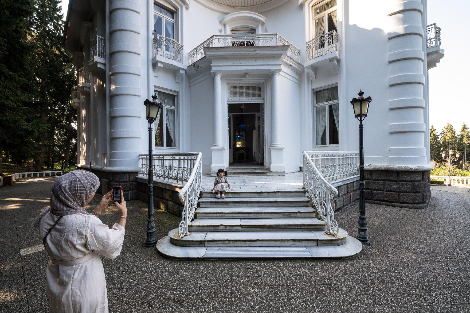 Atatürk pavilion entry