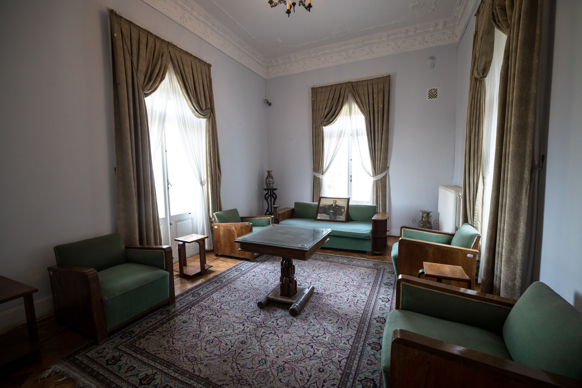 Atatürk's living room