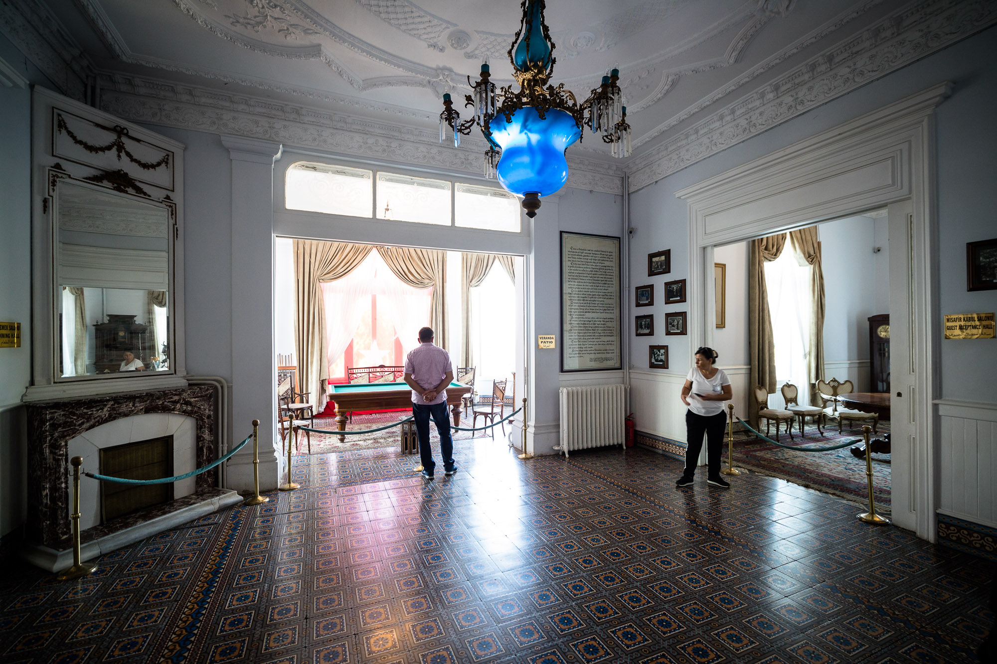 Atatürk's lobby