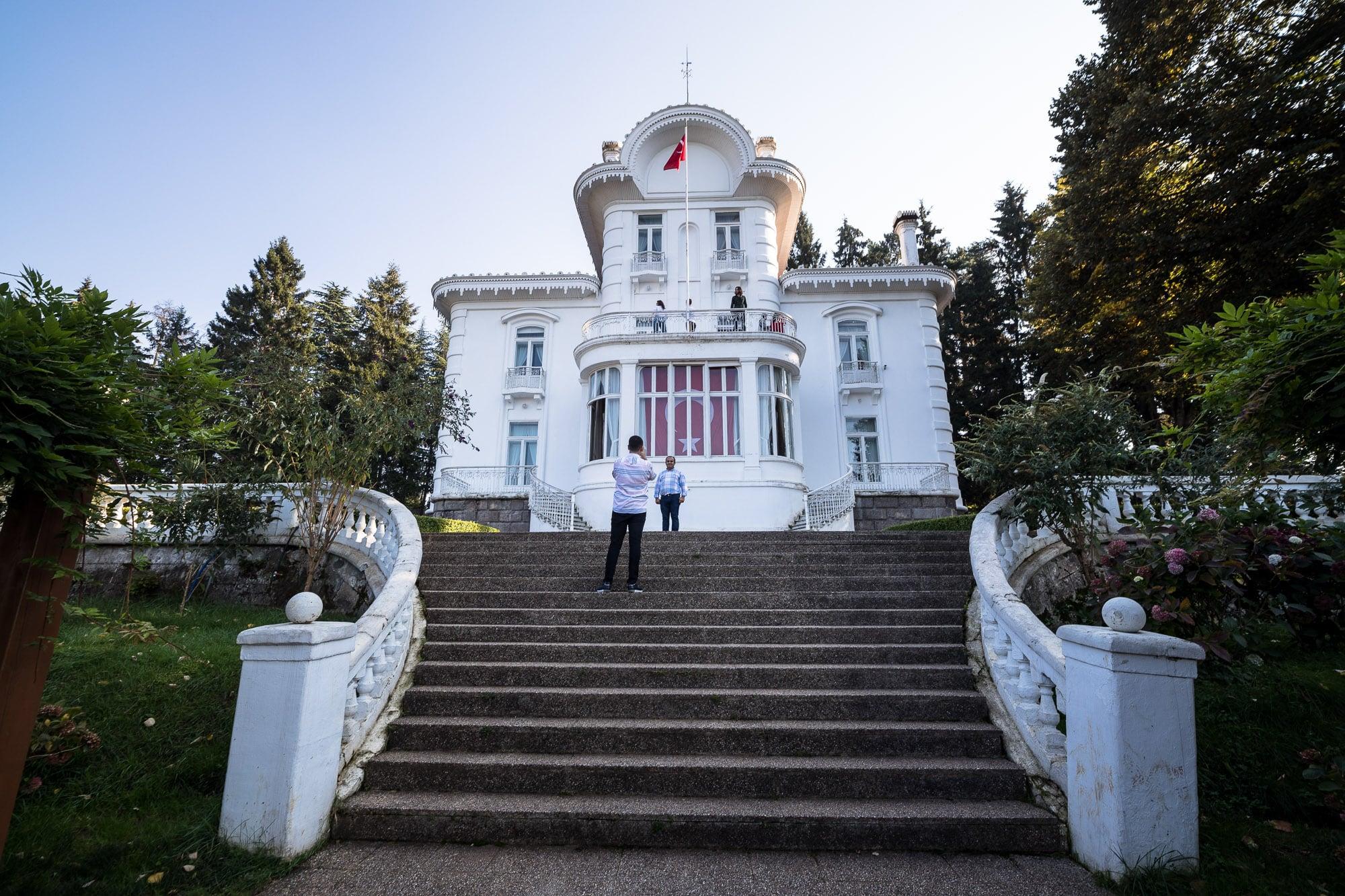 Atatürk pavilion Trabzon