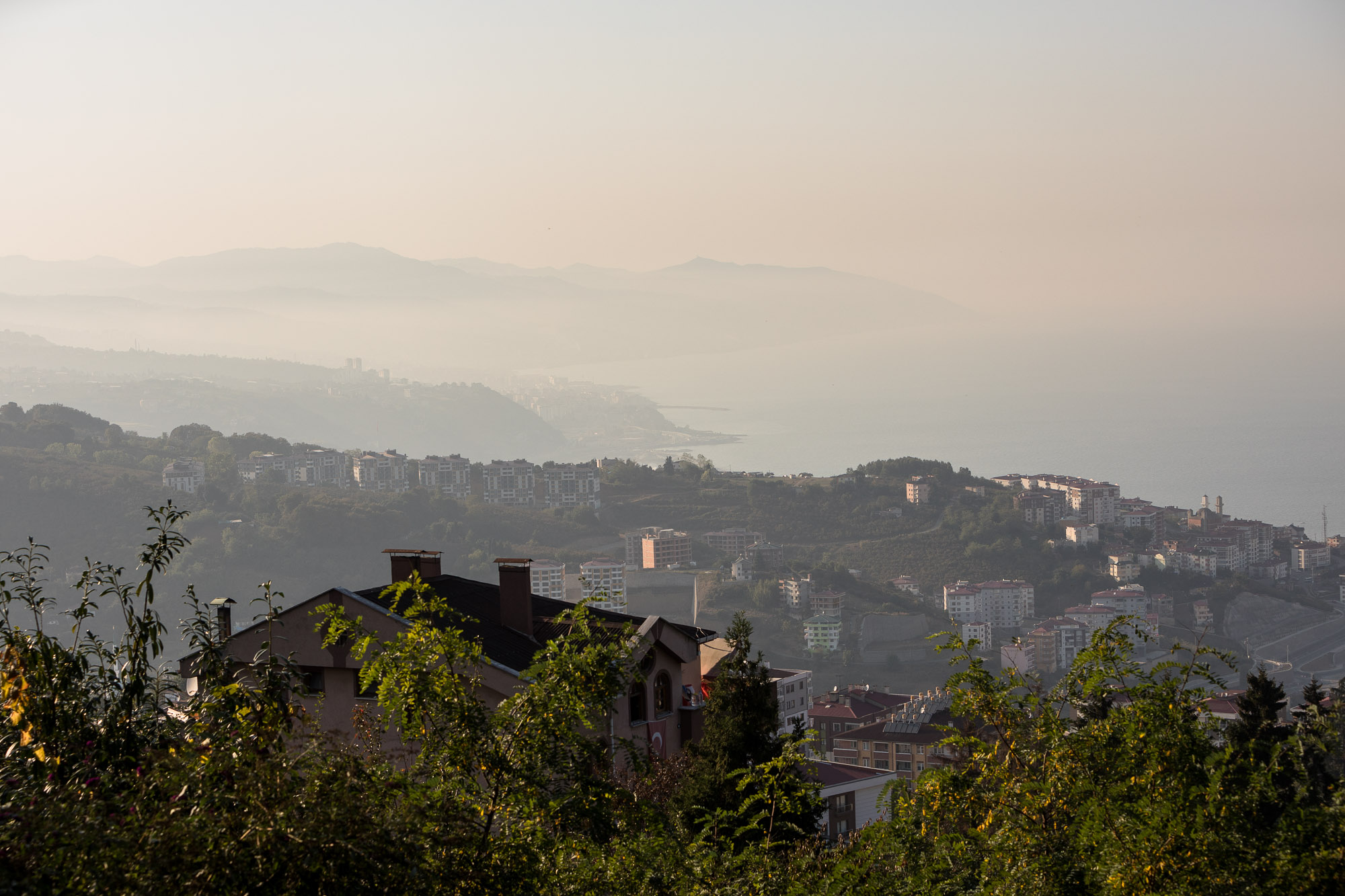 view over Trabzon