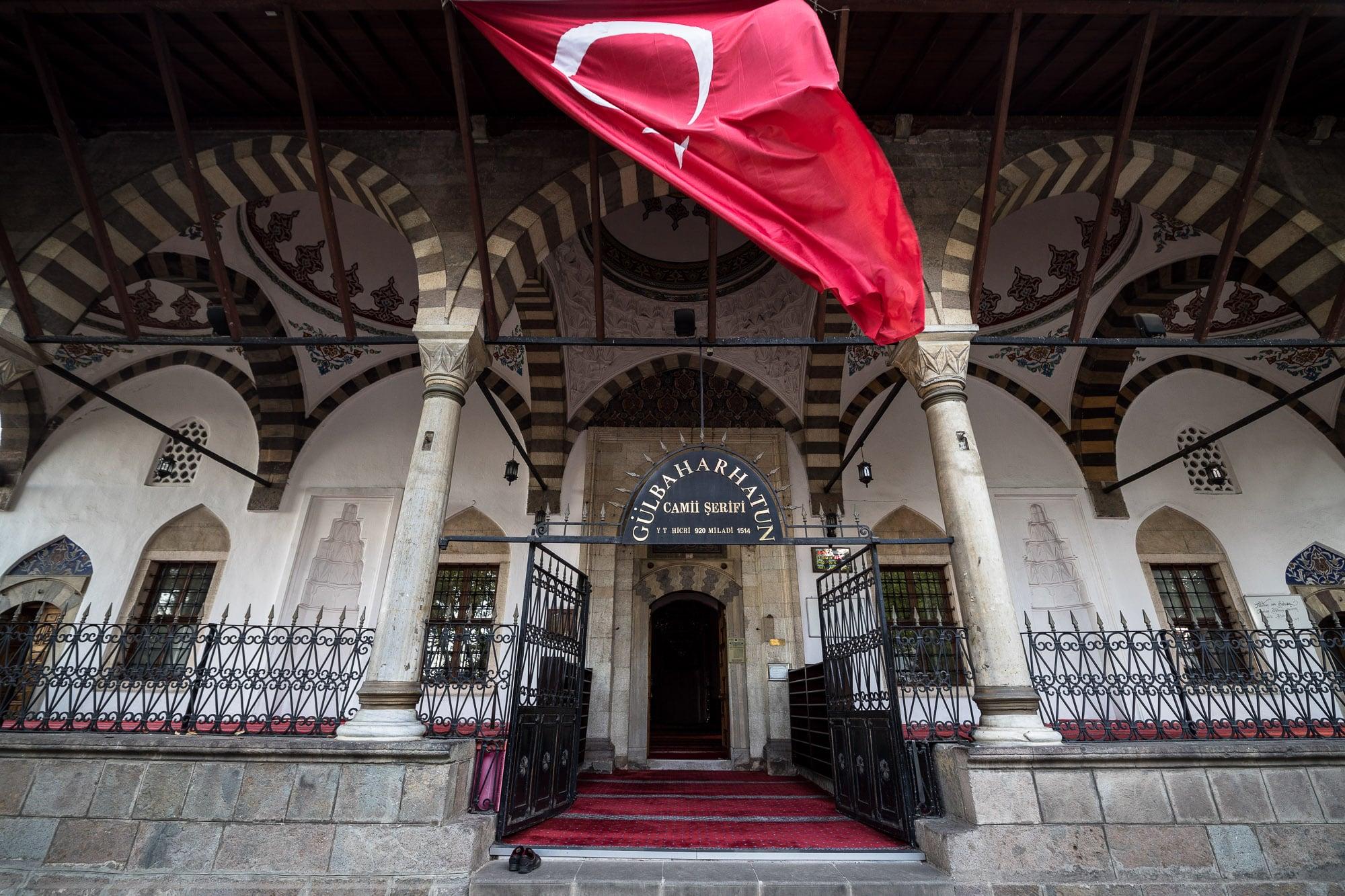 Gülbahar Hatun mosque front