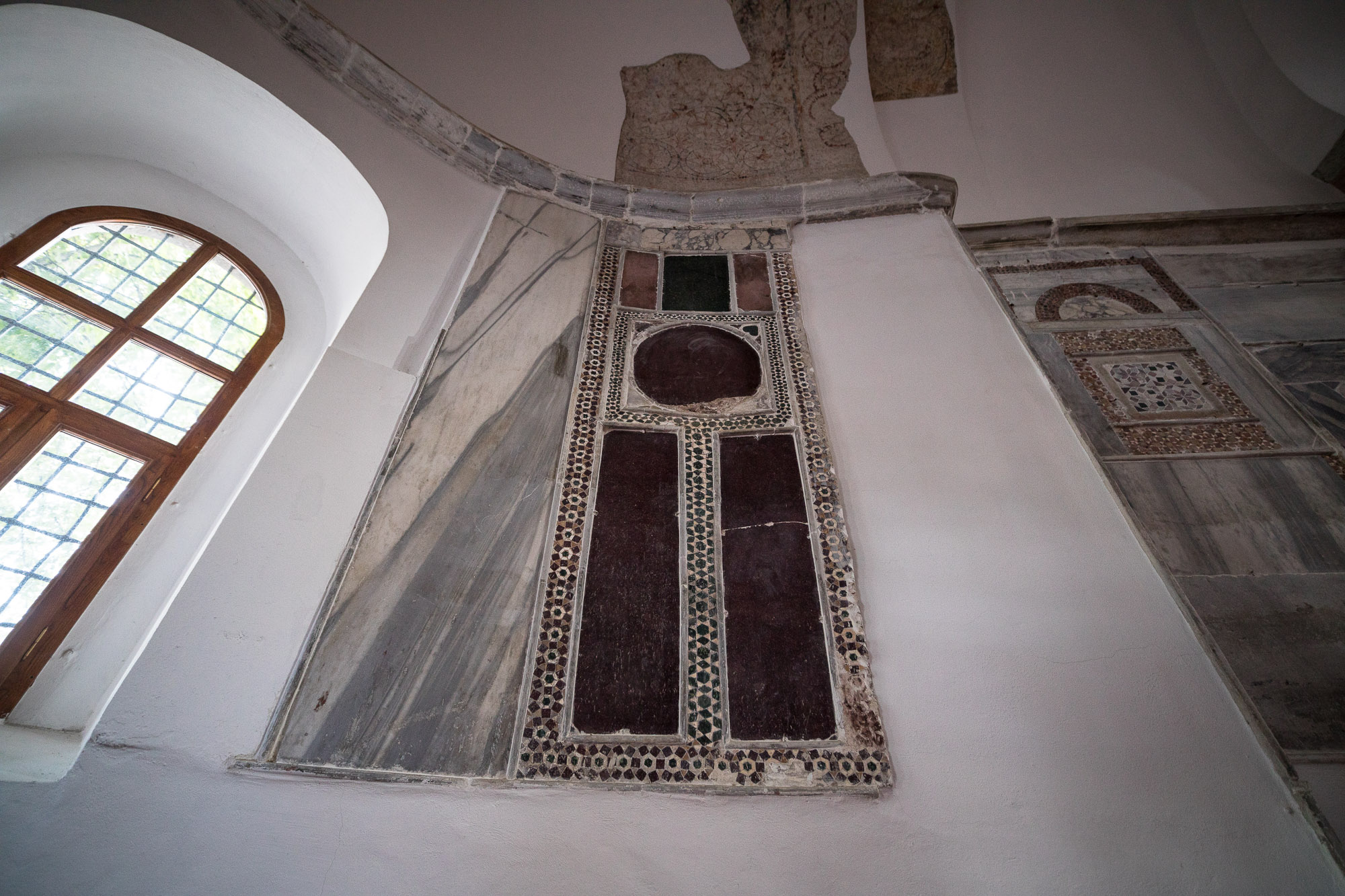 detail in Ortahisar Fatih mosque