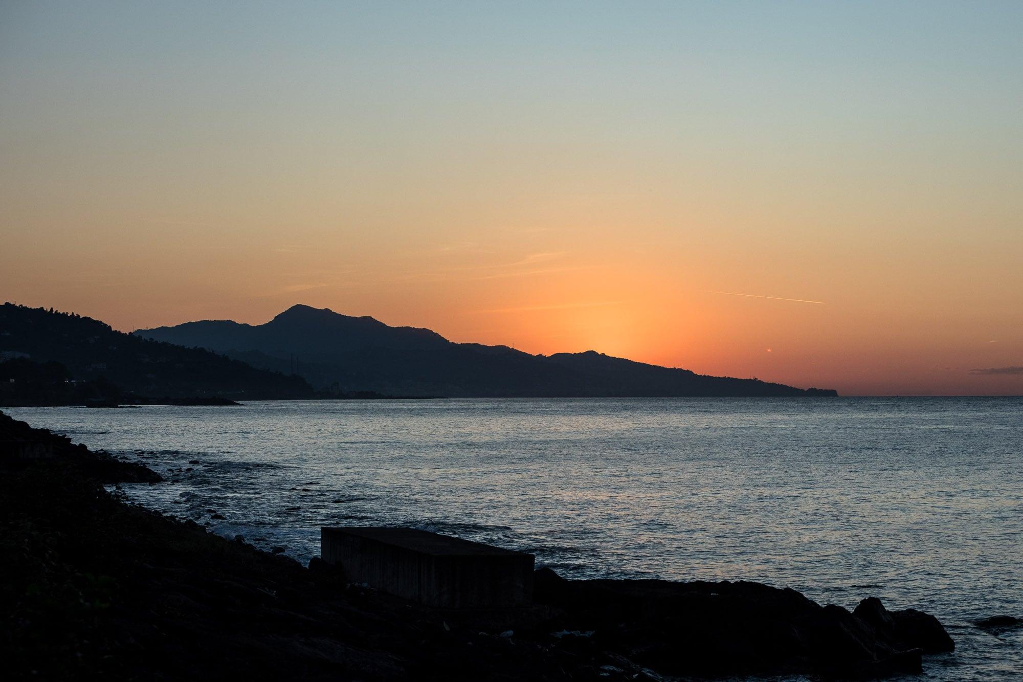 sunset near Cavuslu