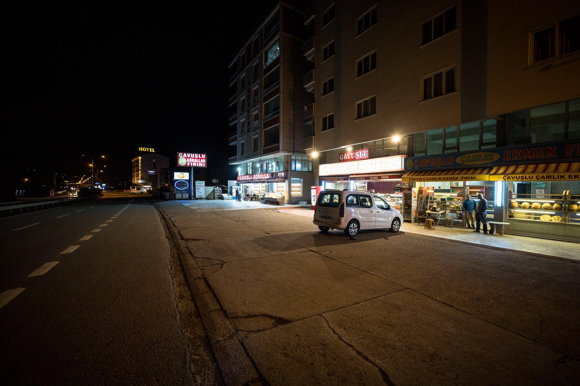 Cavuslu at night