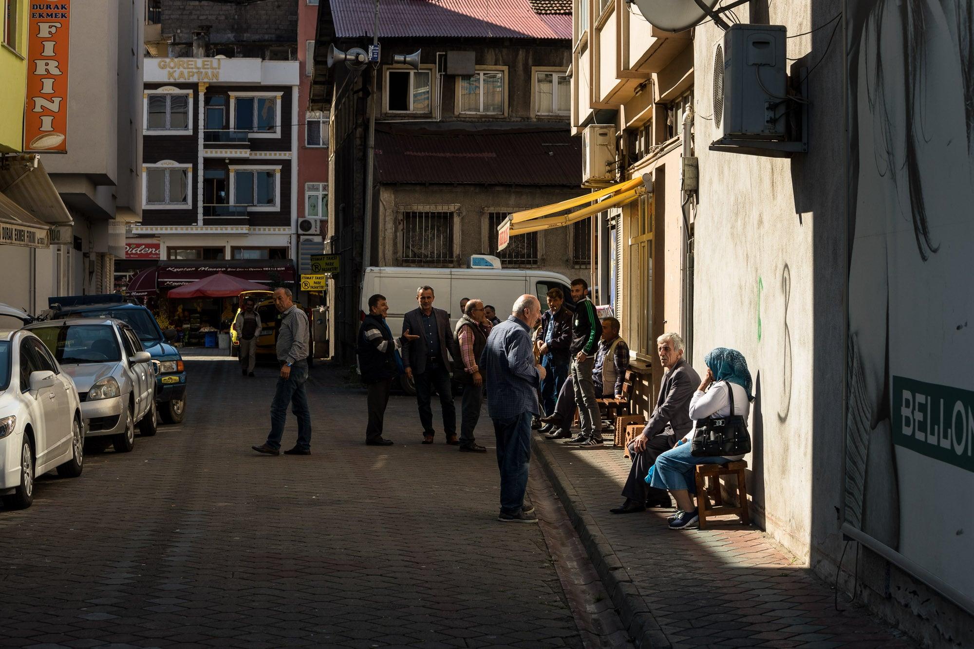 backstreet in Cavuslu
