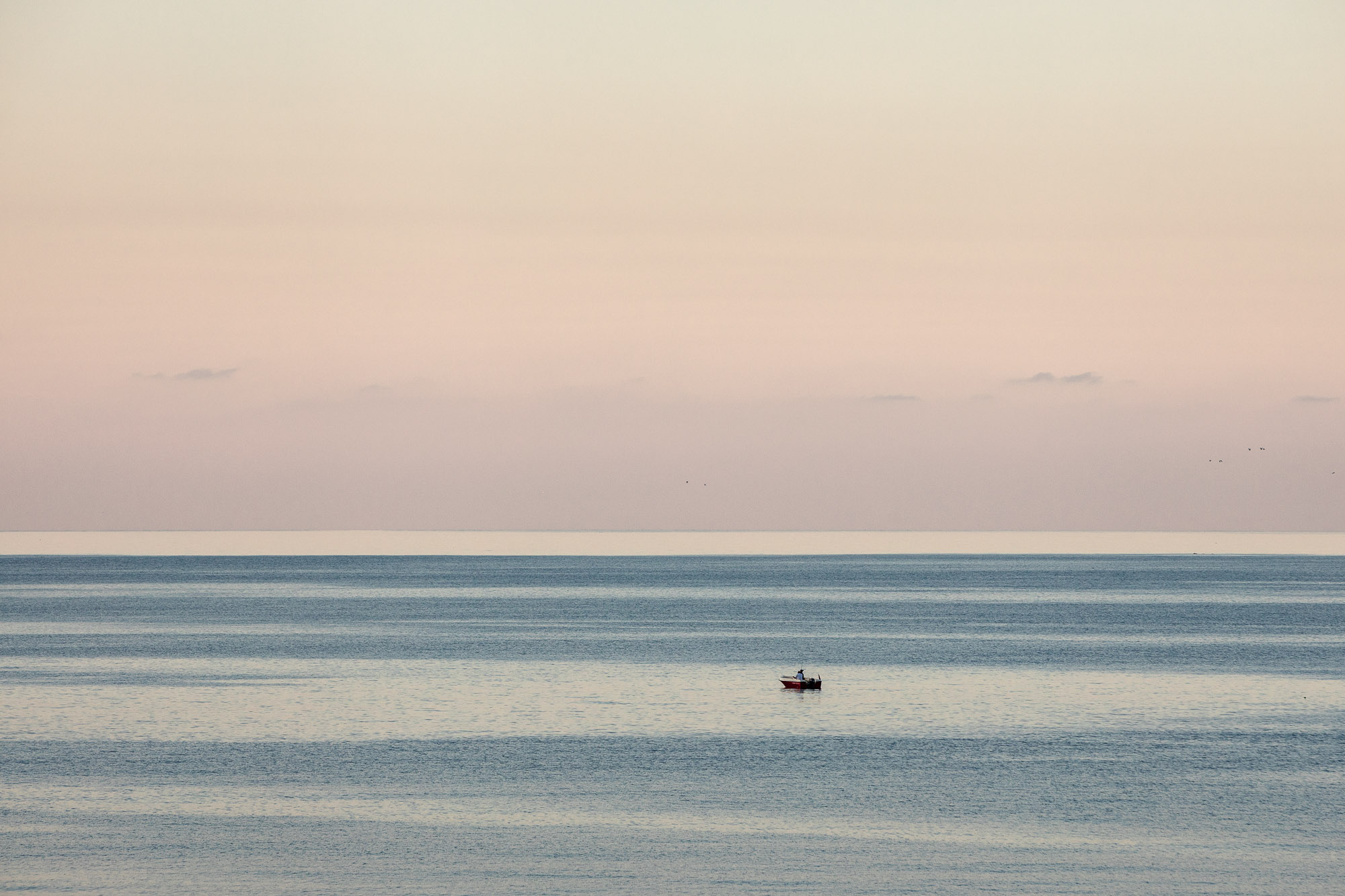 fishing boat on the Black Sea