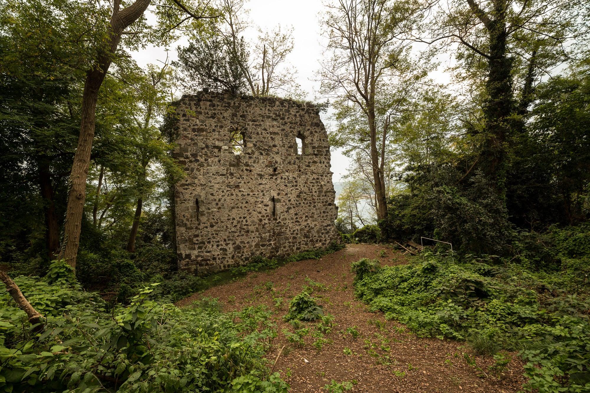ruins of the monastery on Giresun Island