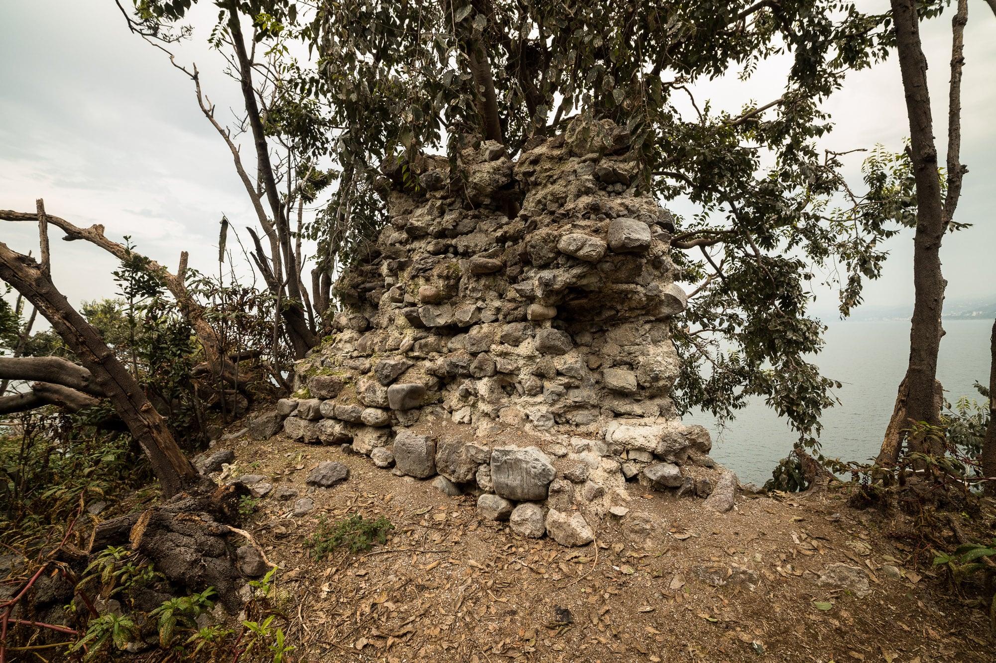 wall ruins on Giresun Island