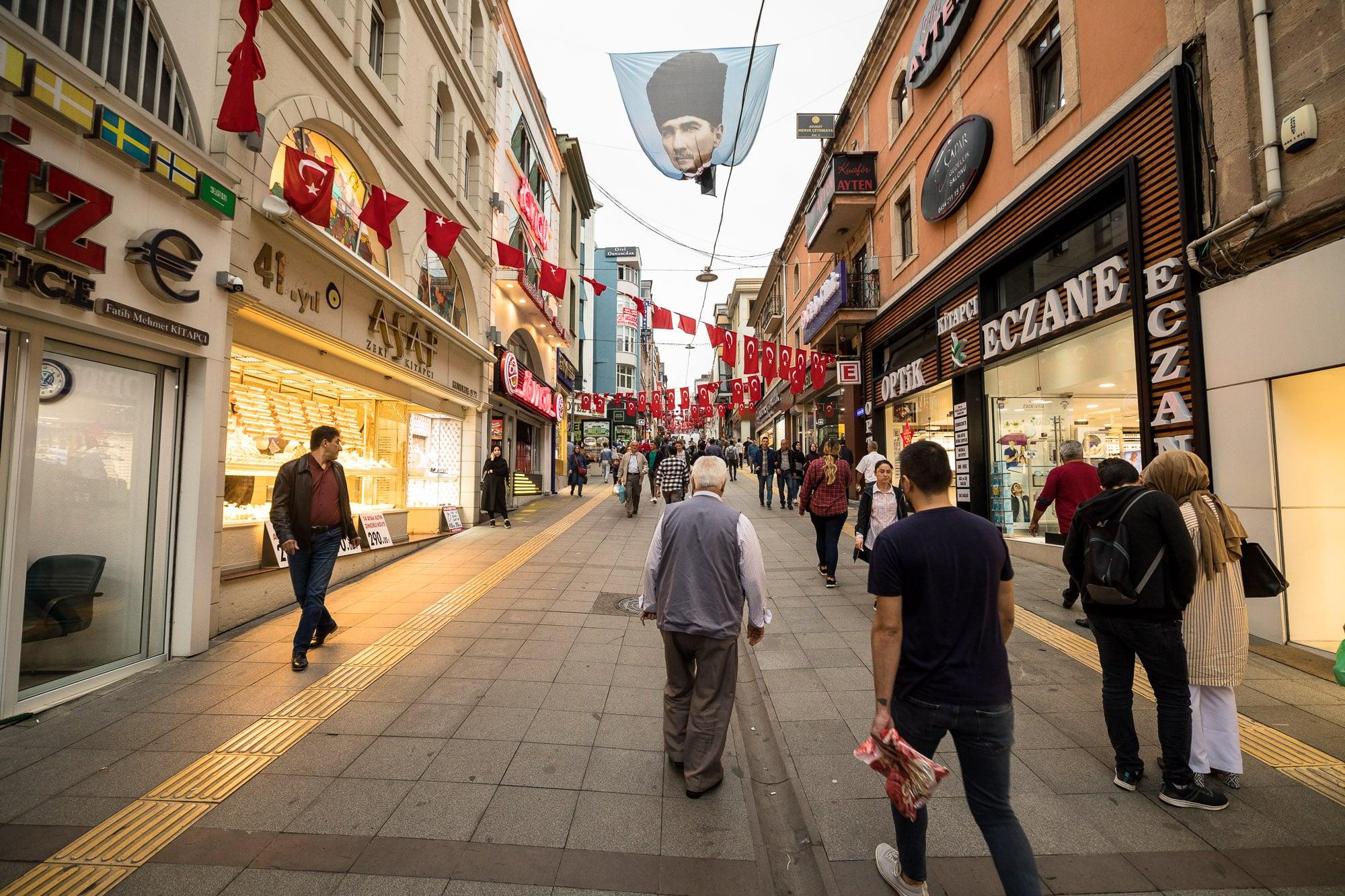Giresun shopping street