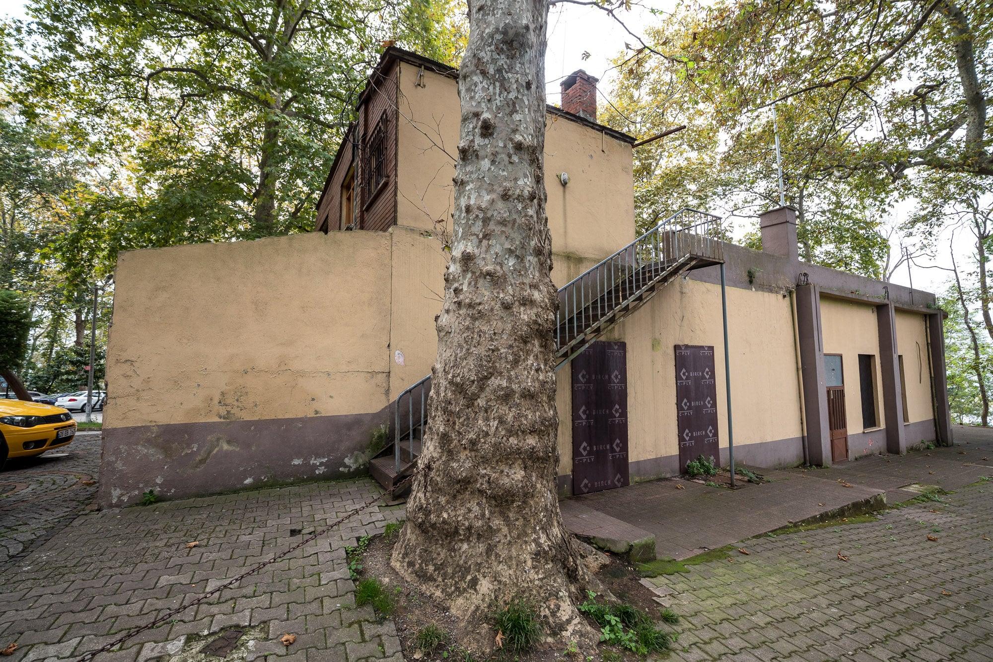 mosque at Giresun Castle