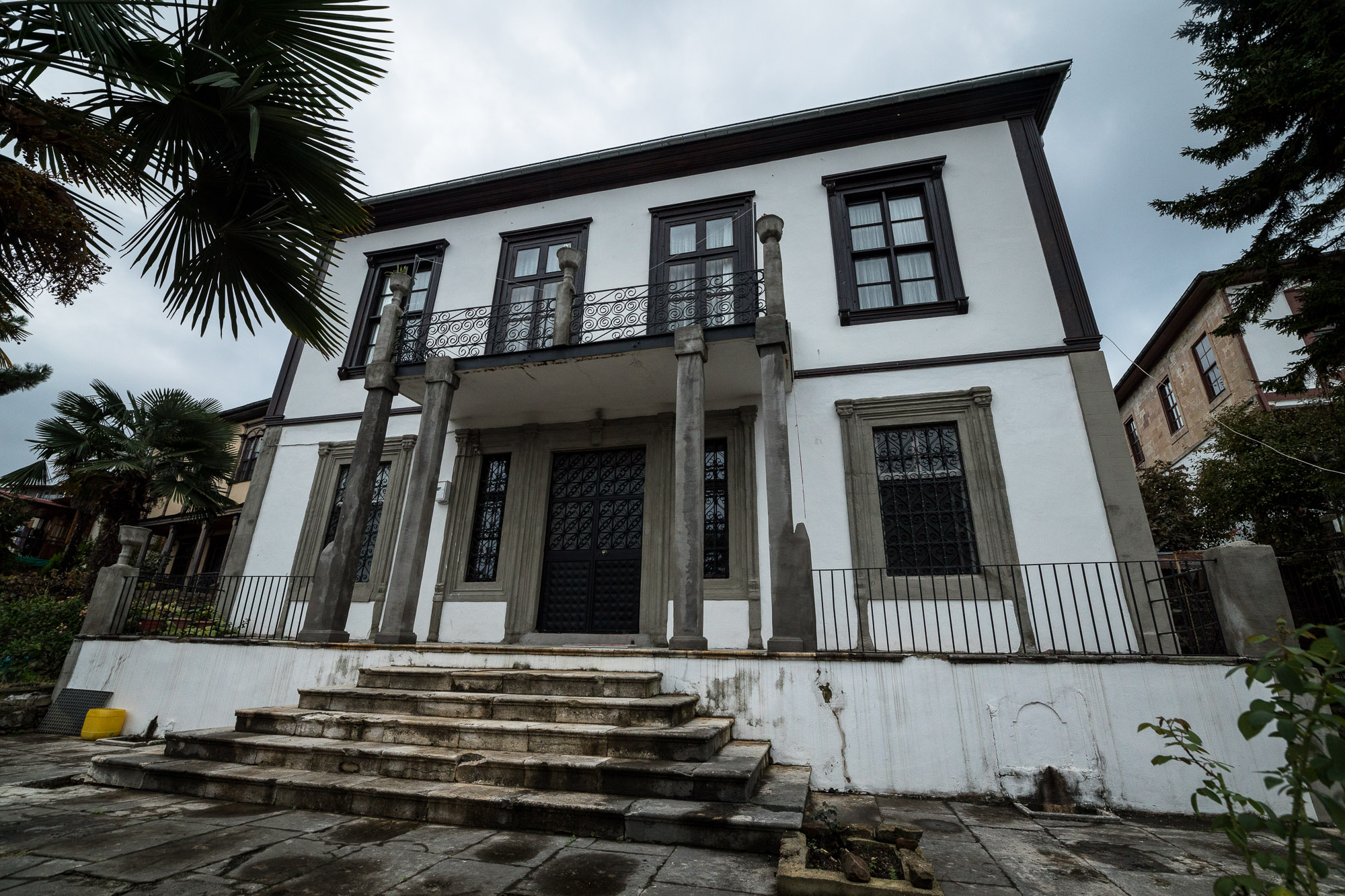 old mansion in Giresun