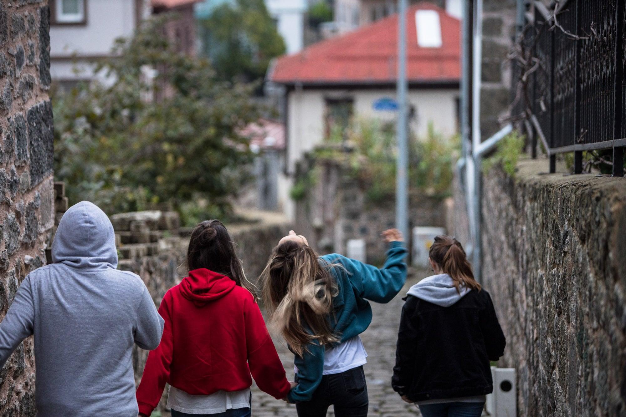 kids in Giresun