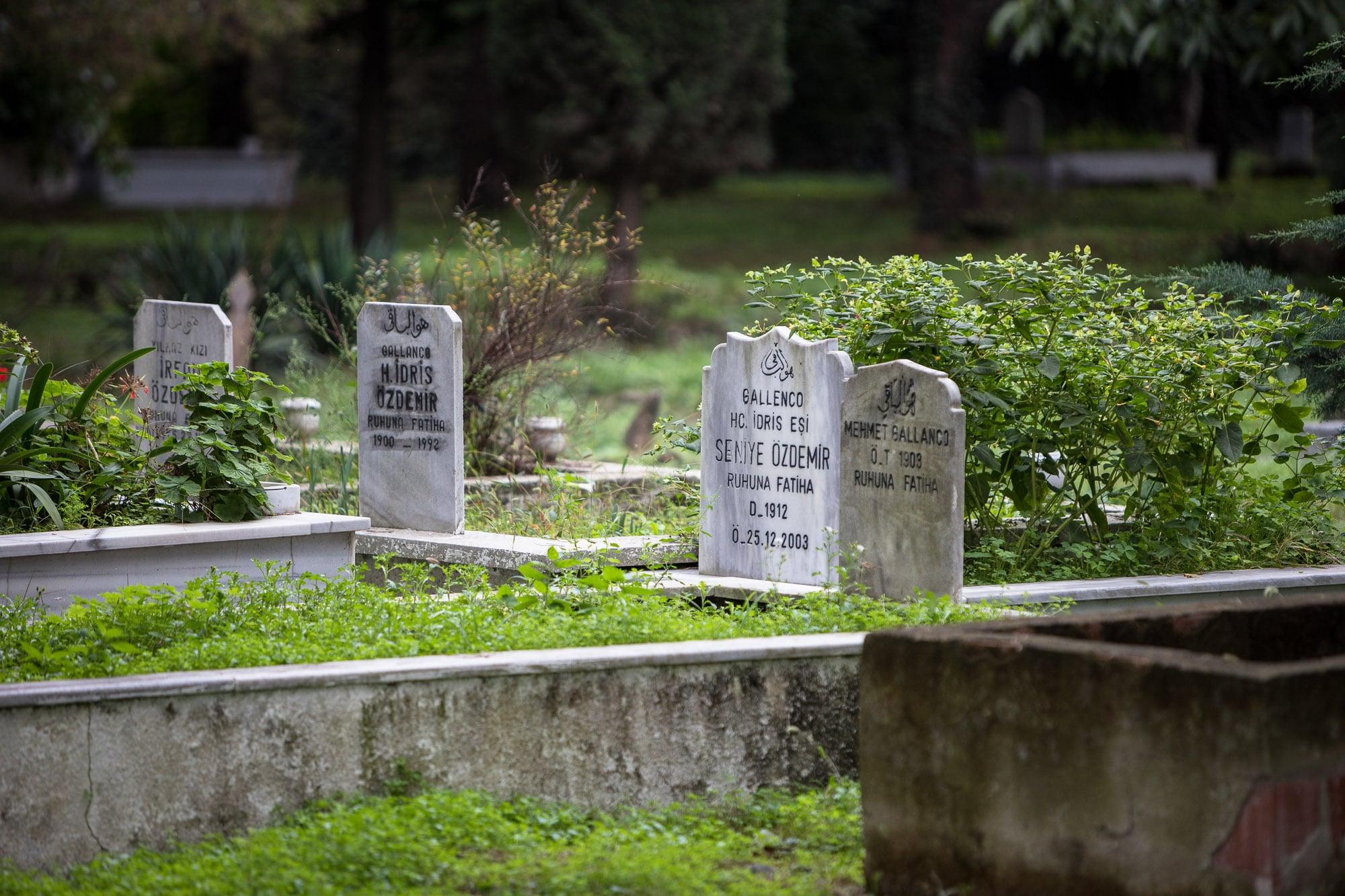 graveyard near Bulancak