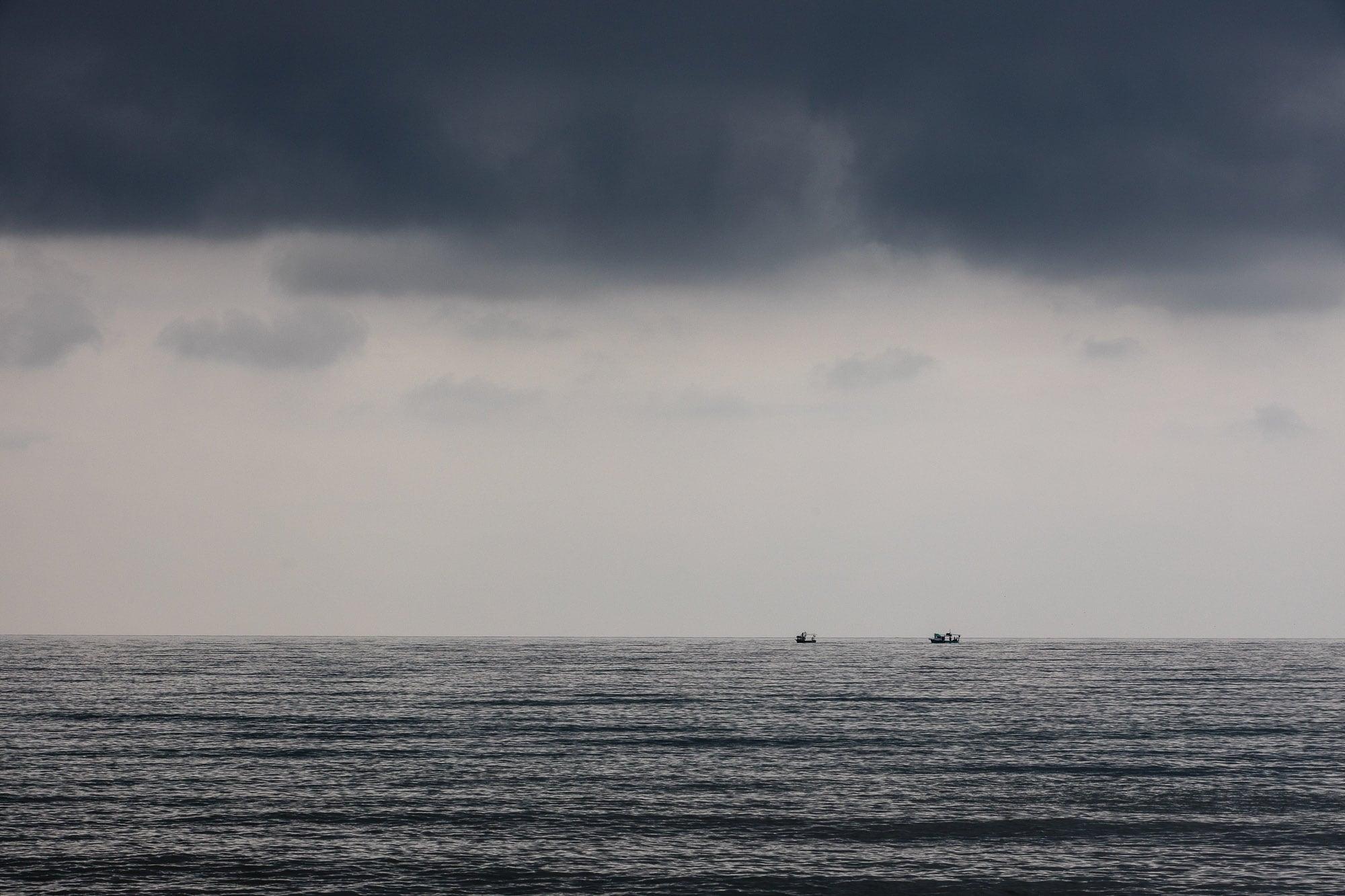 Black Sea getting dark