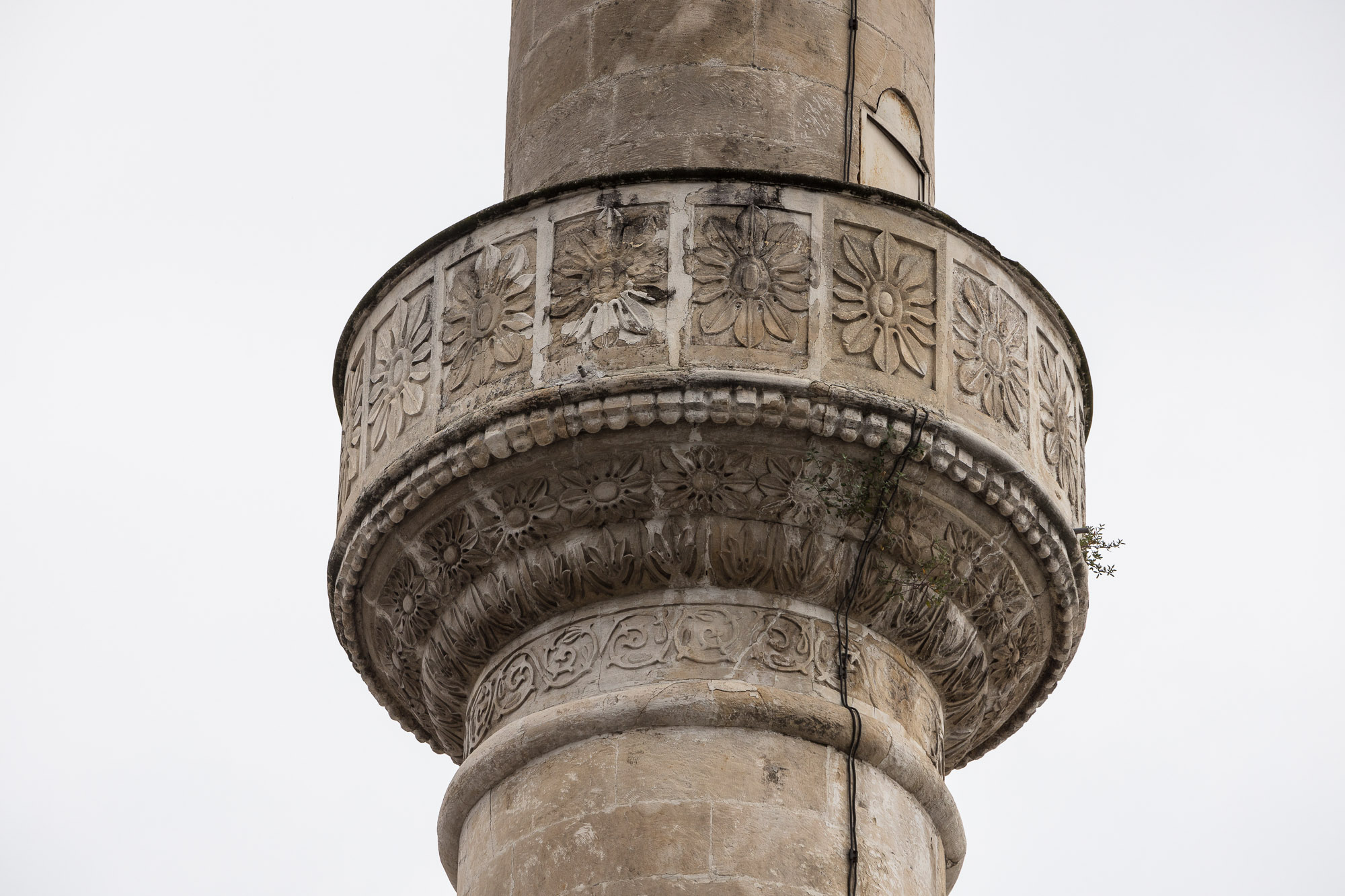 Atik Ibrahim Pasa mosque minaret