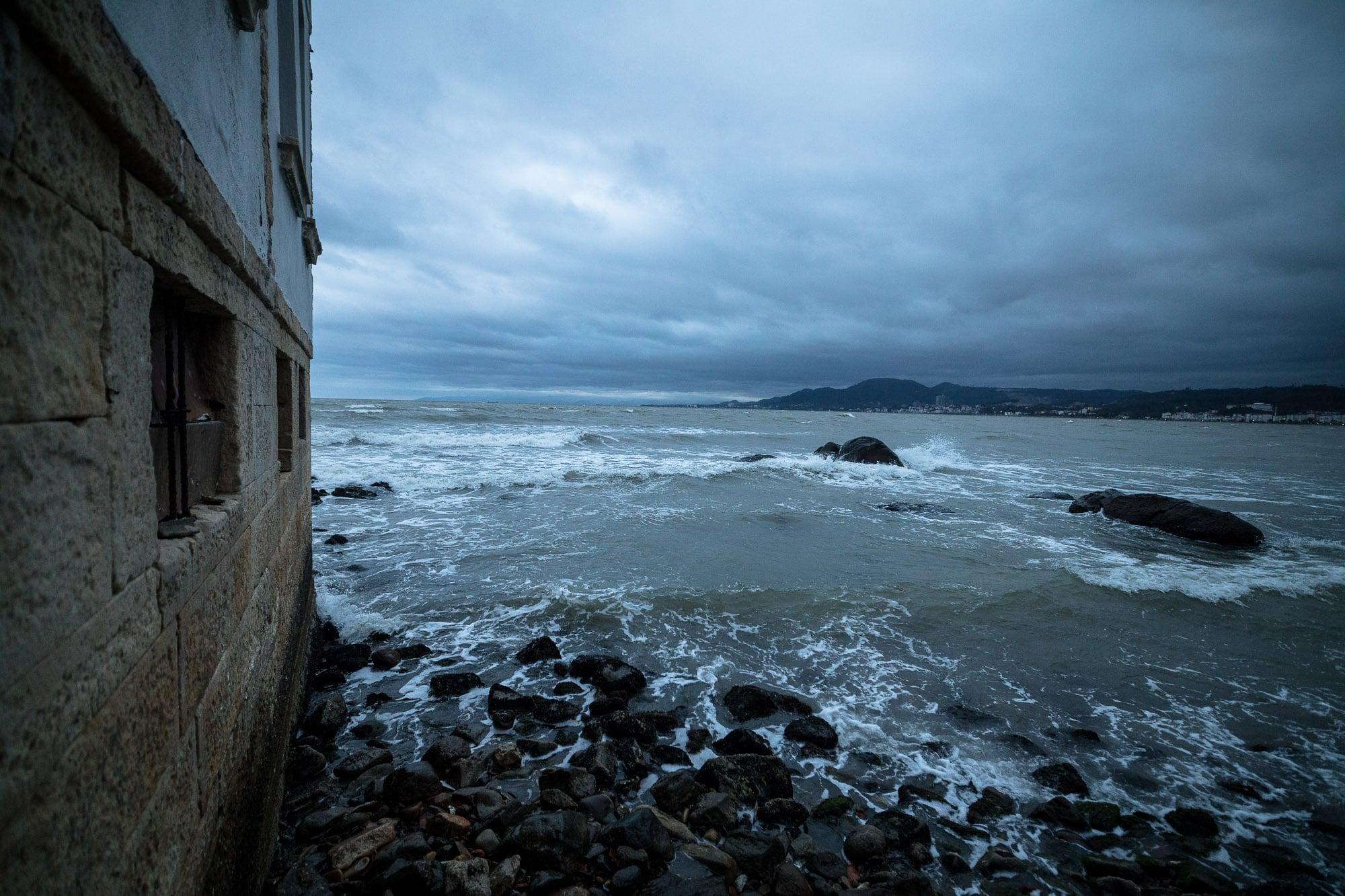 Black Sea in Ünye