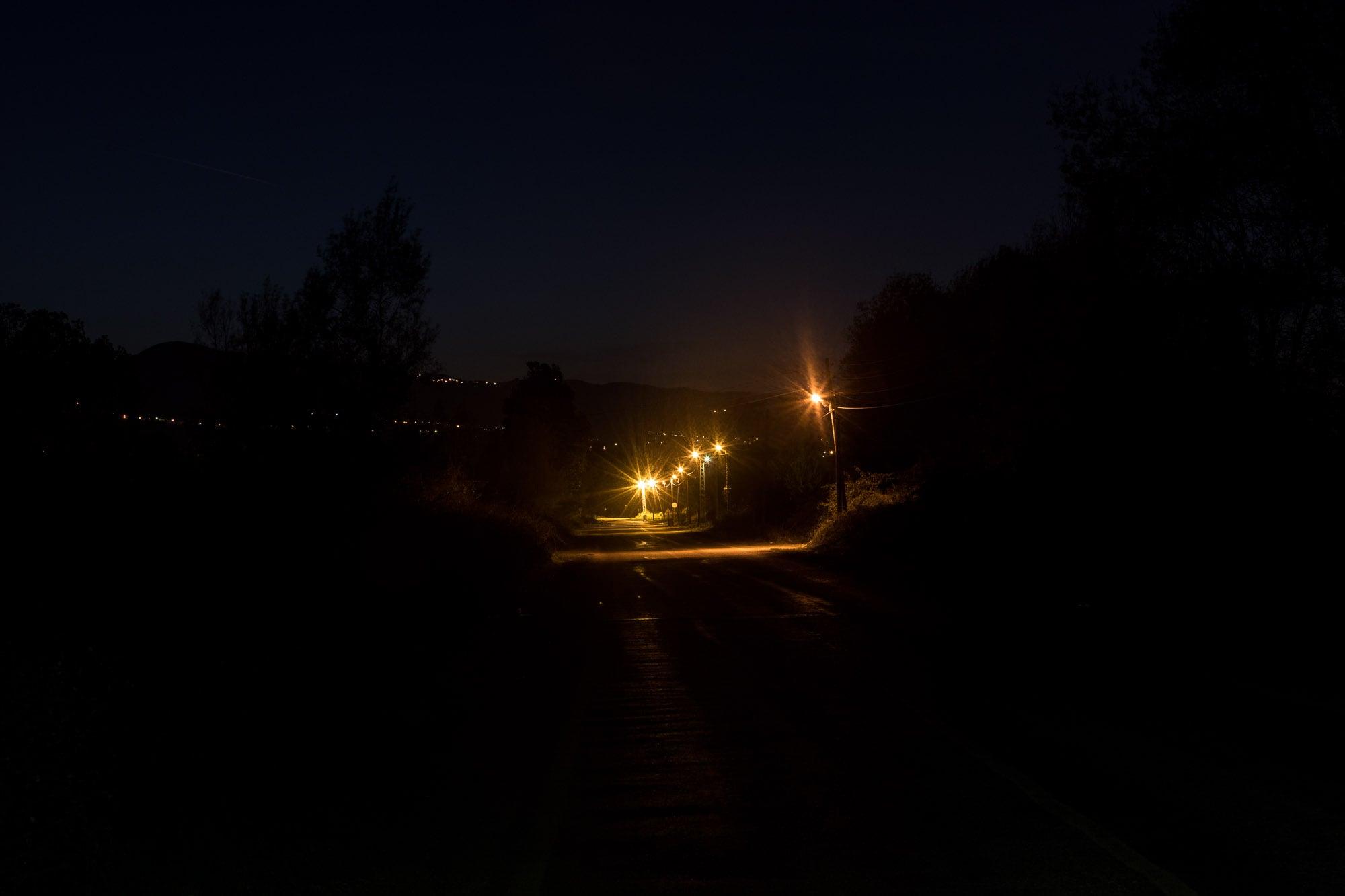 darkness near Tekkeköy