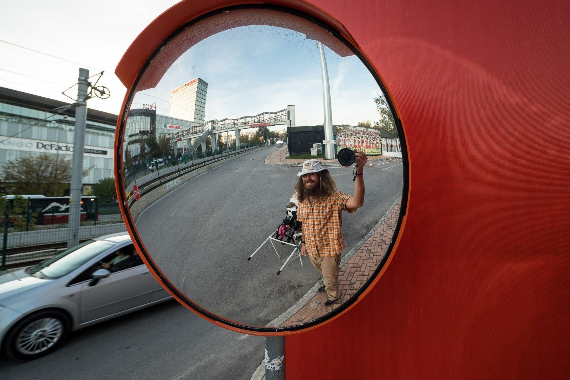 mirror selfie Samsun