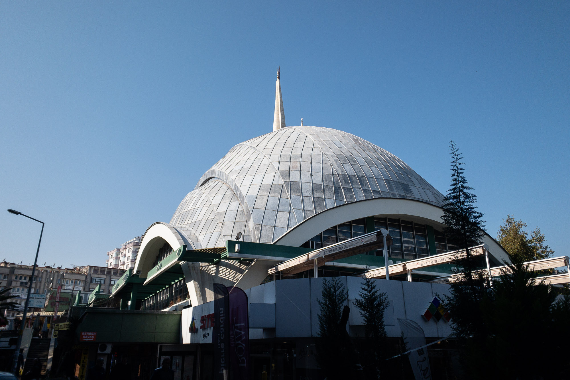 mosque dome in Samsun