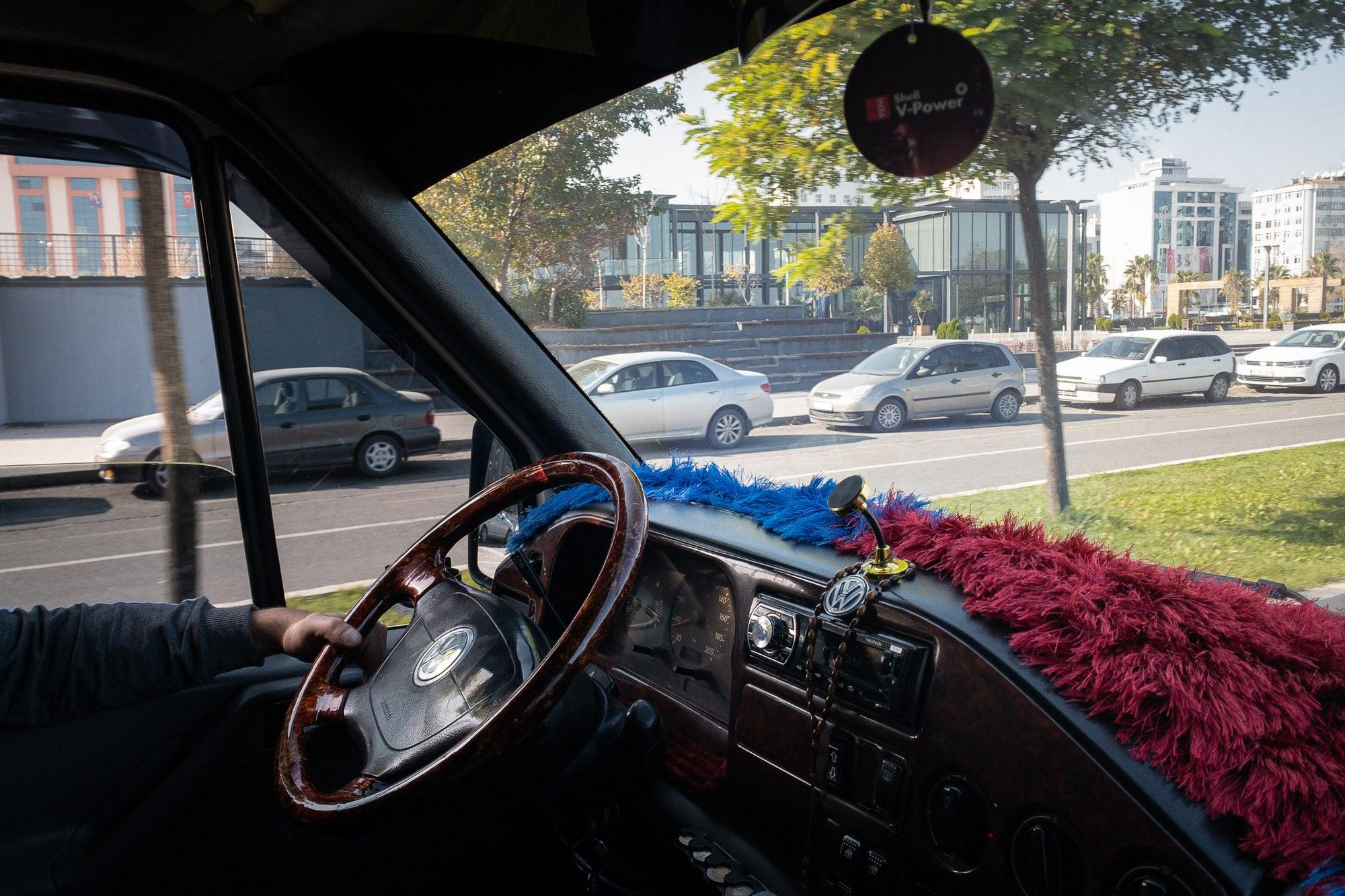 minibus in Samsun