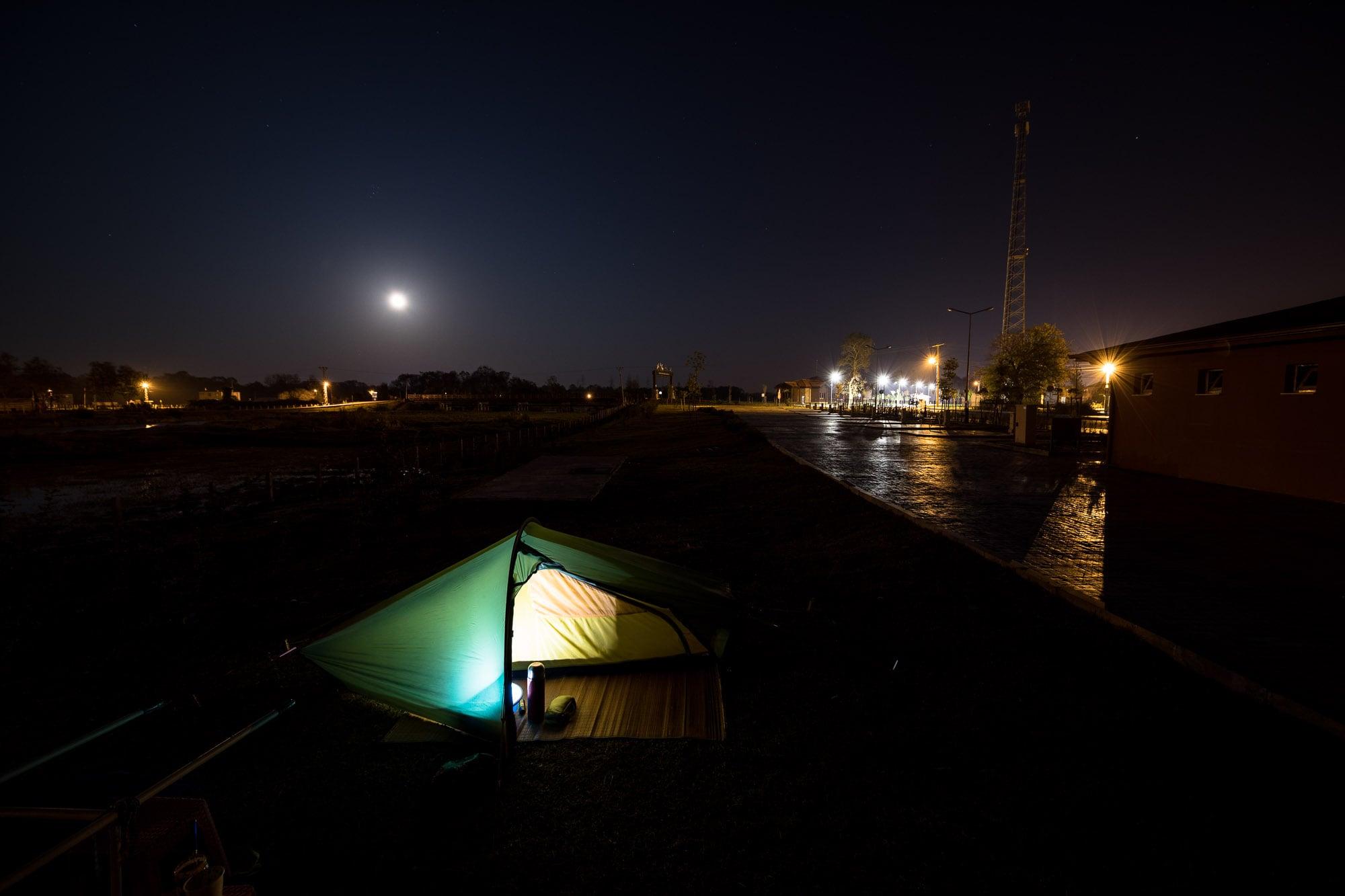 camp near Yörükler