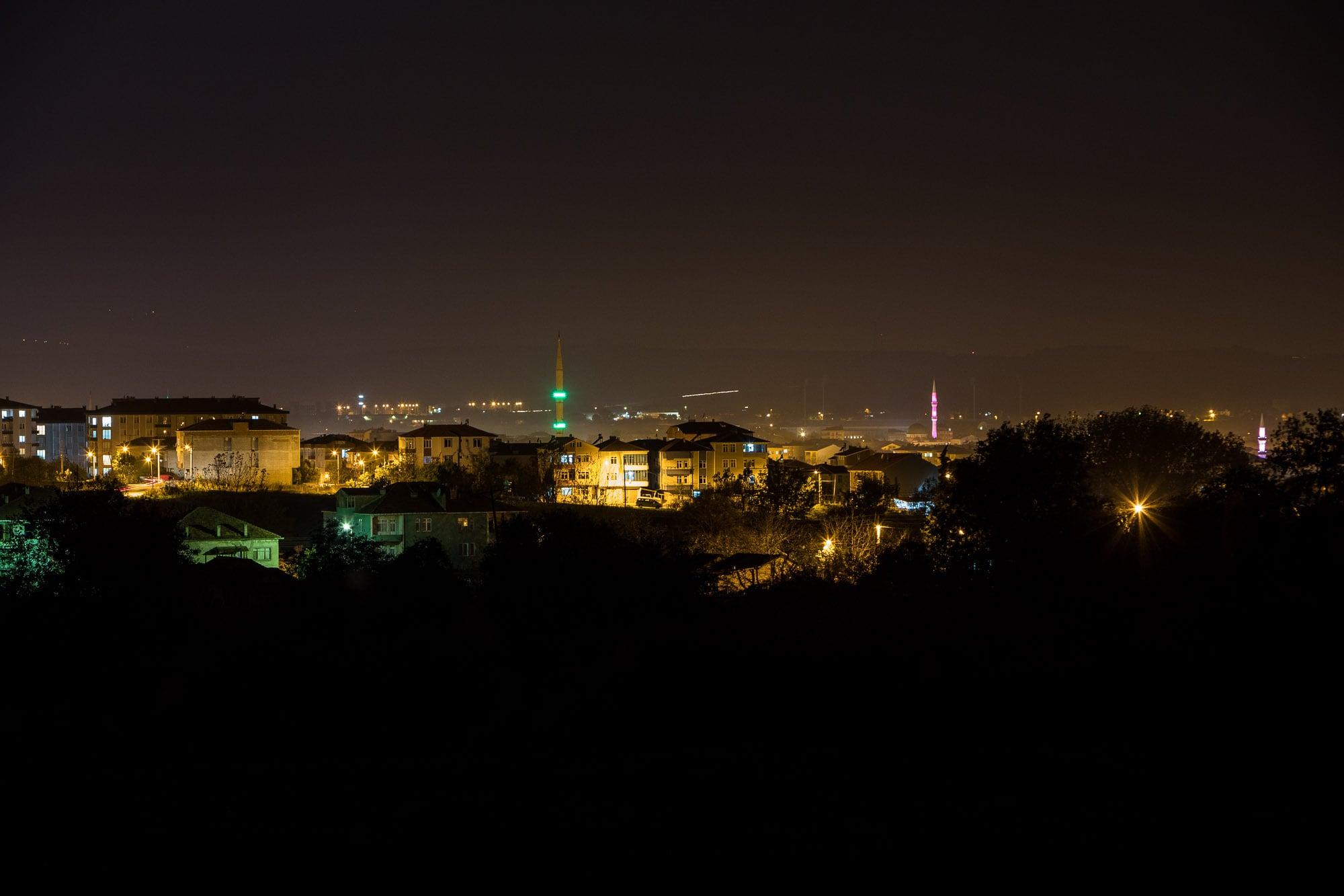 reaching Bafra at night