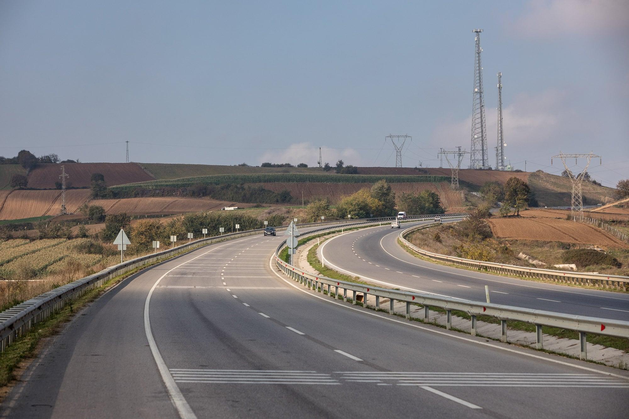 highway near Bafra
