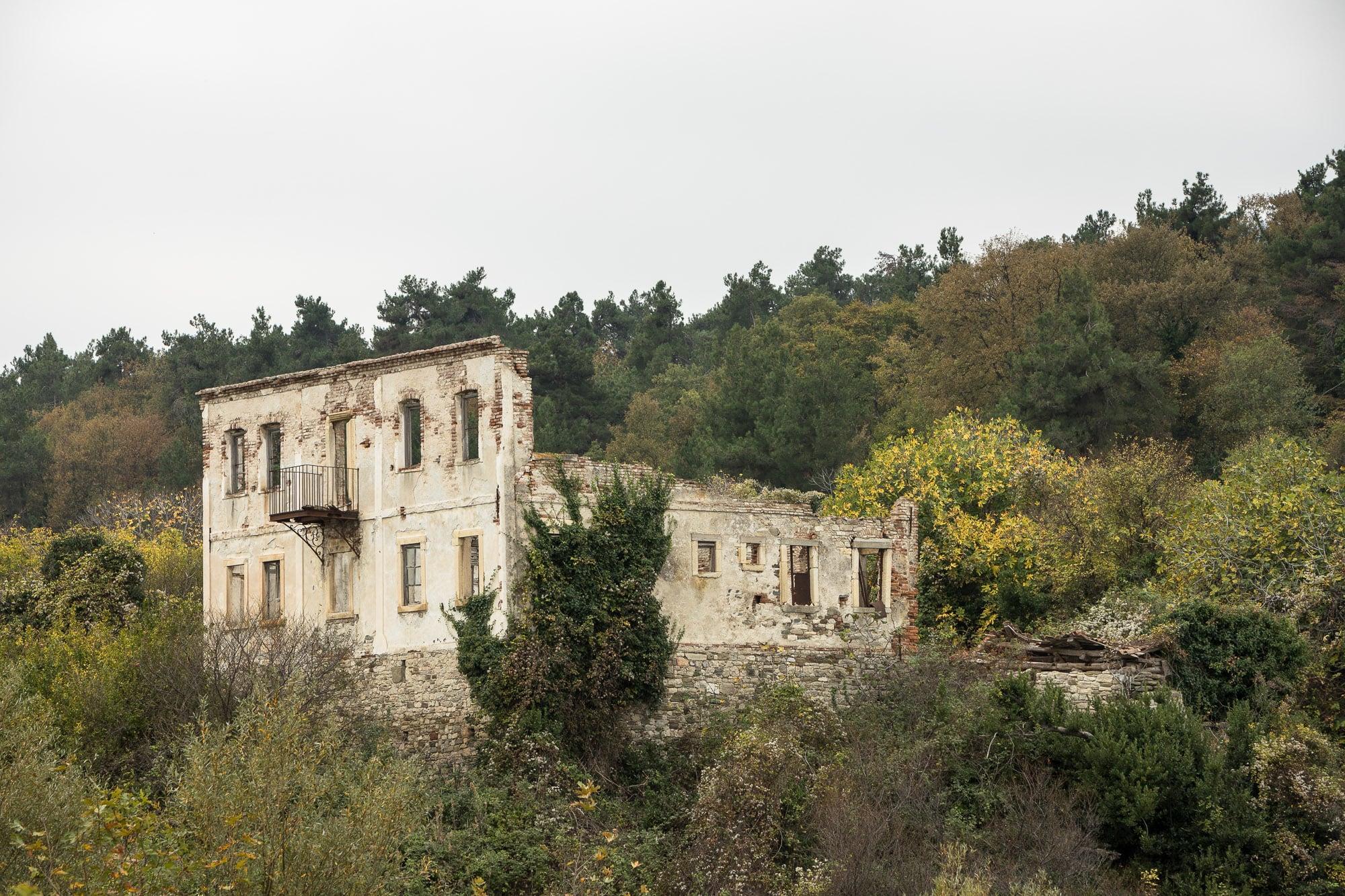 ruin near Yakakent