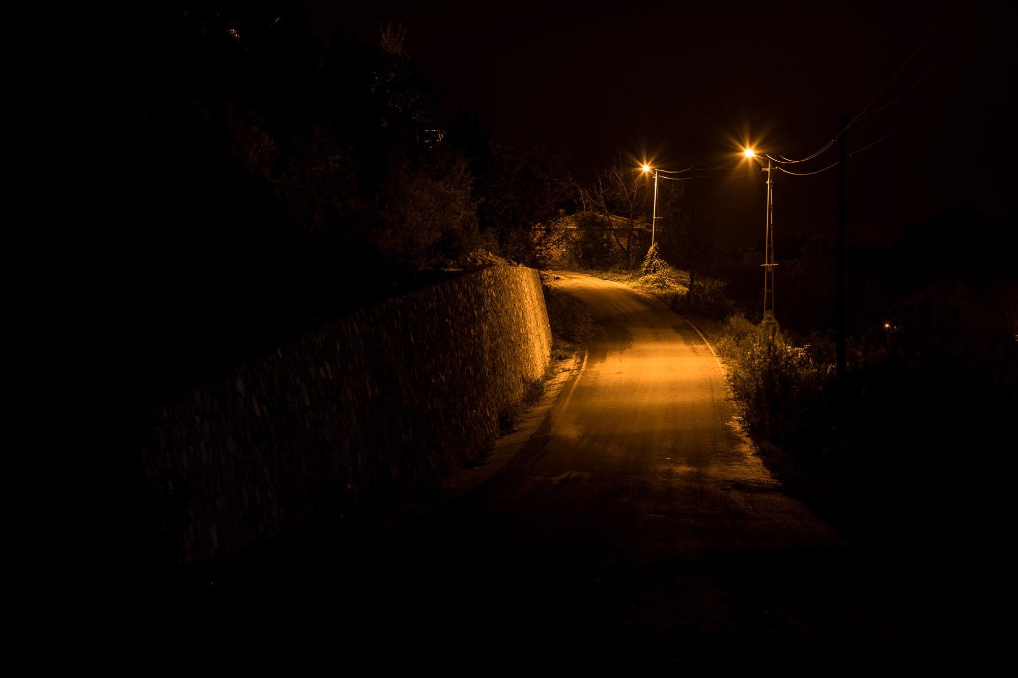 uphill slope to Yenikent