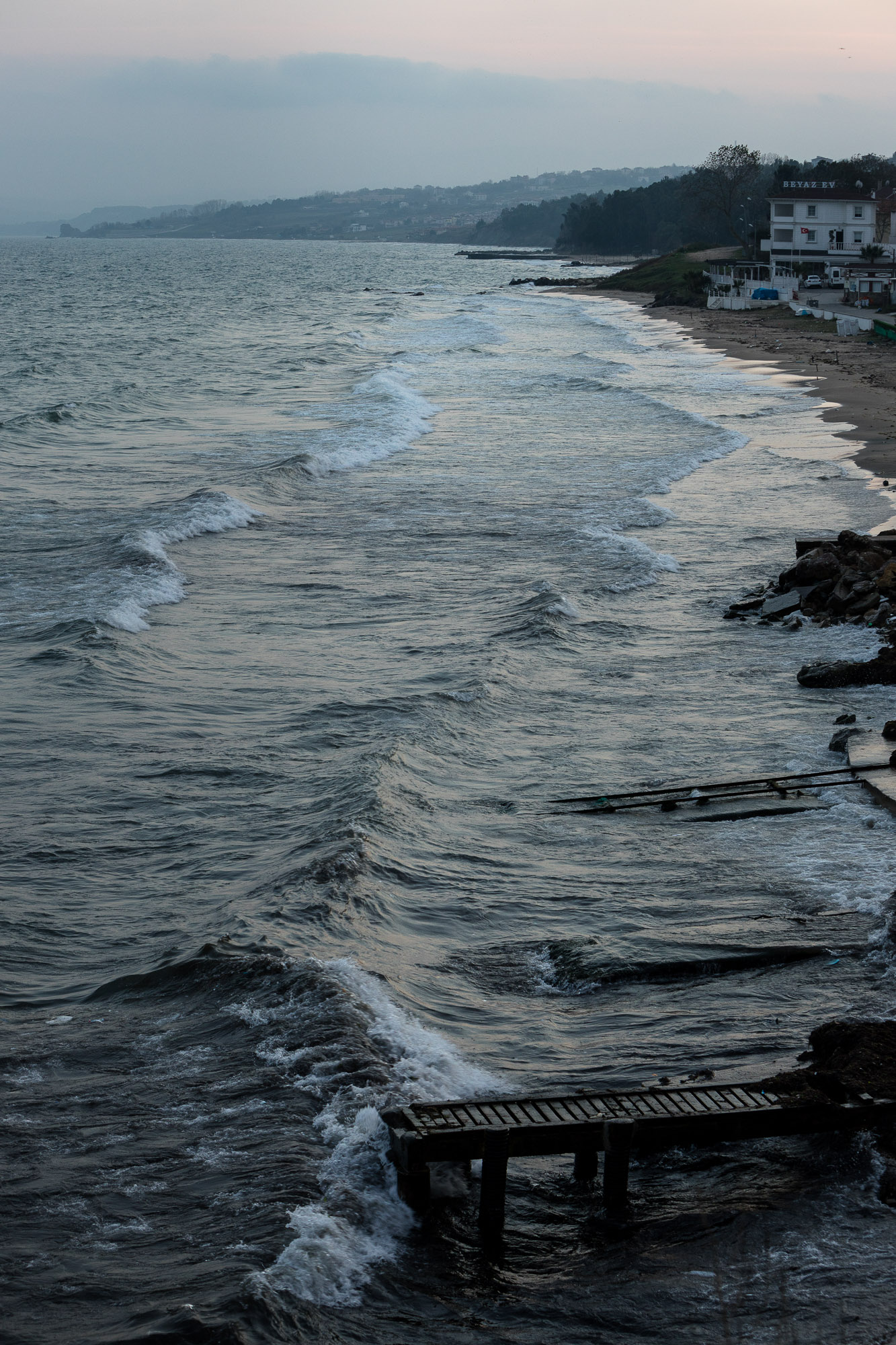 waves near Sinop
