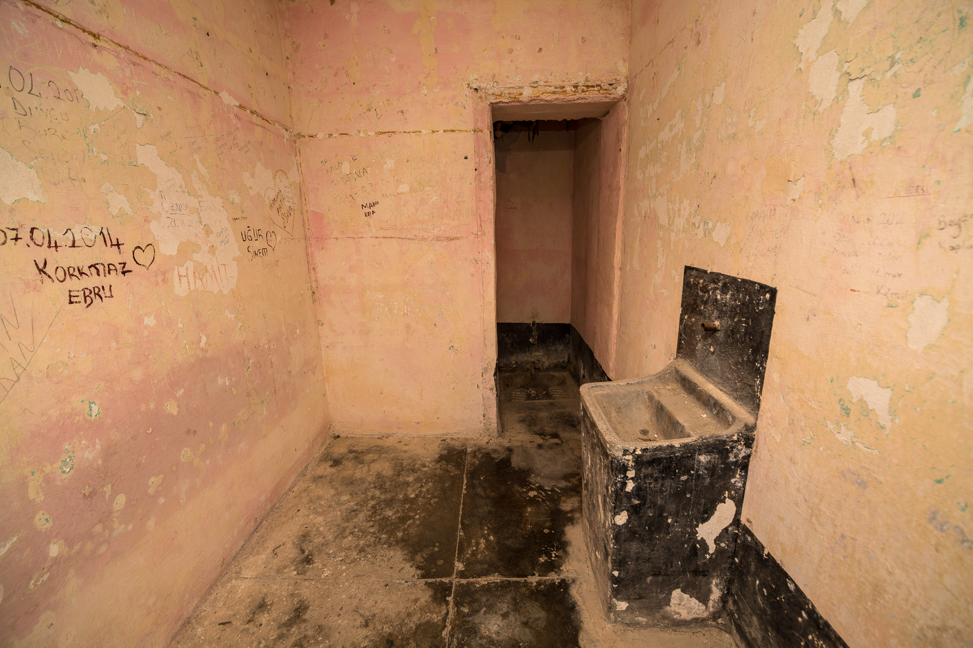 cell in the old prison of Sinop