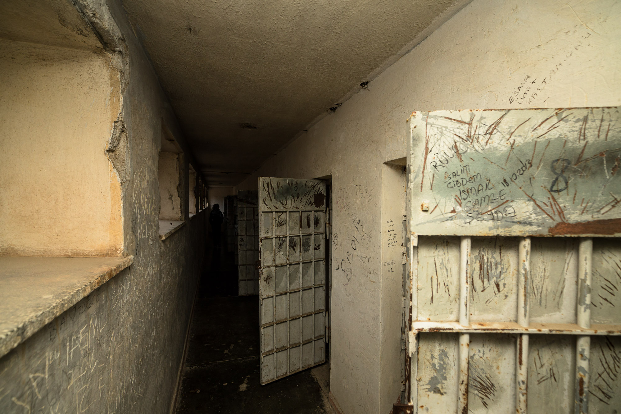 inside Sinop Fortress Prison
