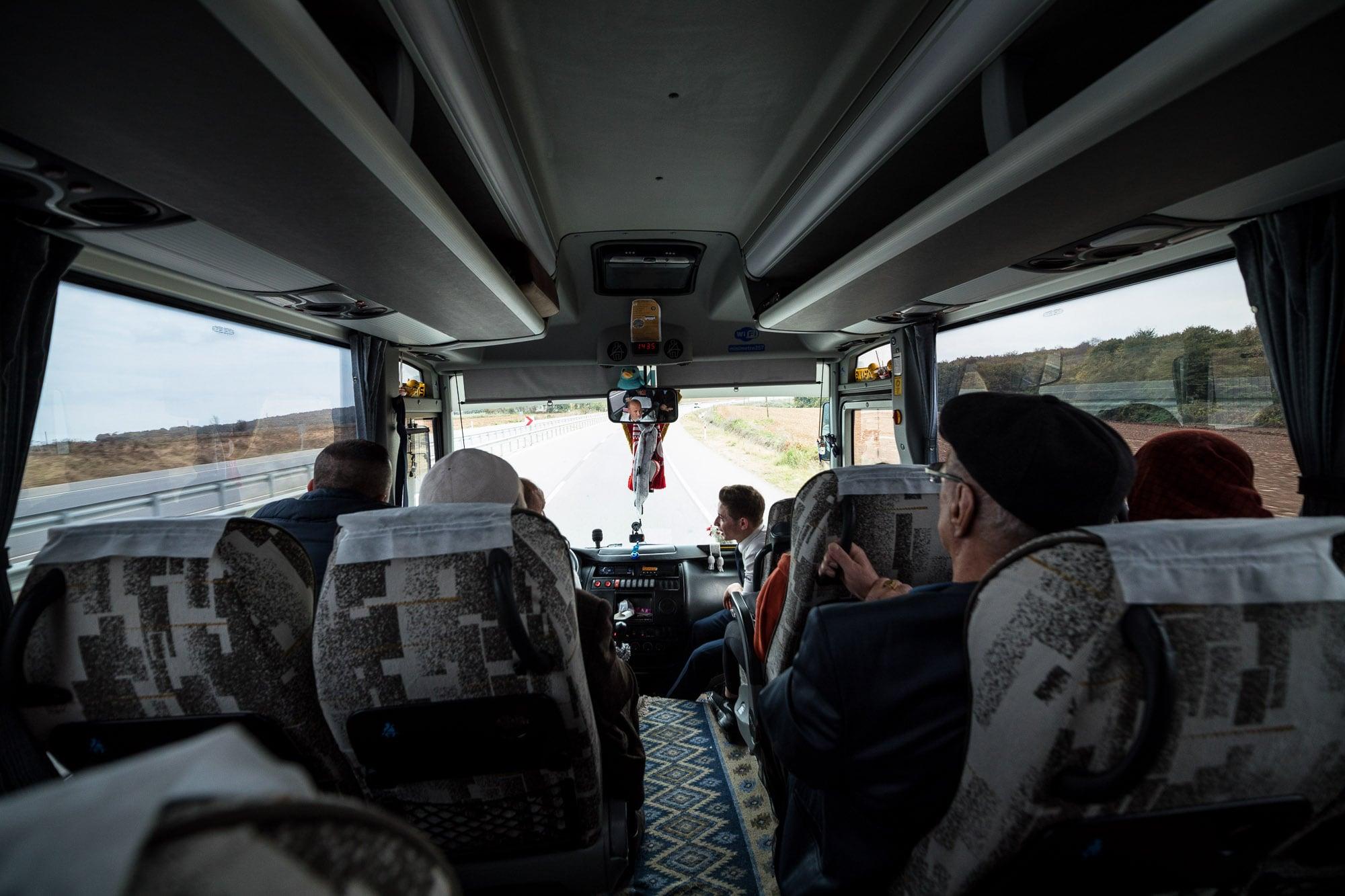 bus from Sinop to Samsun