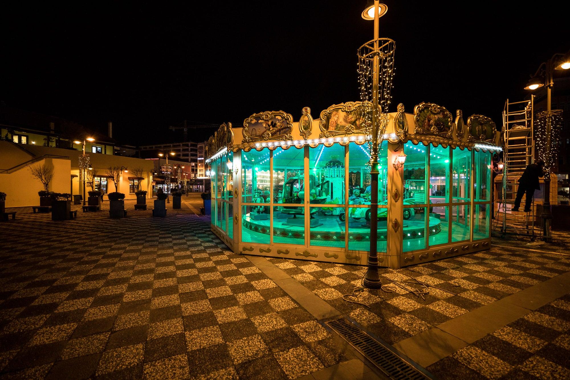 carousel in Samsun