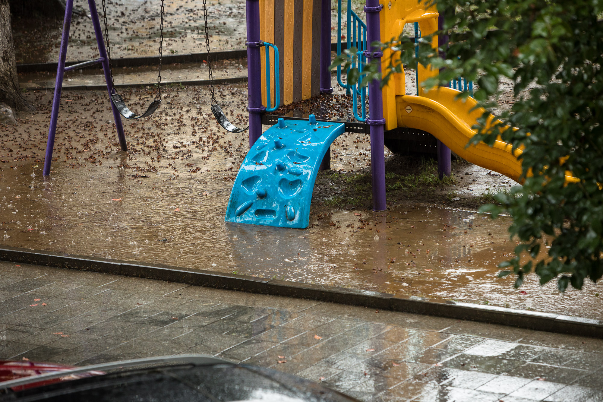 rain in Batumi