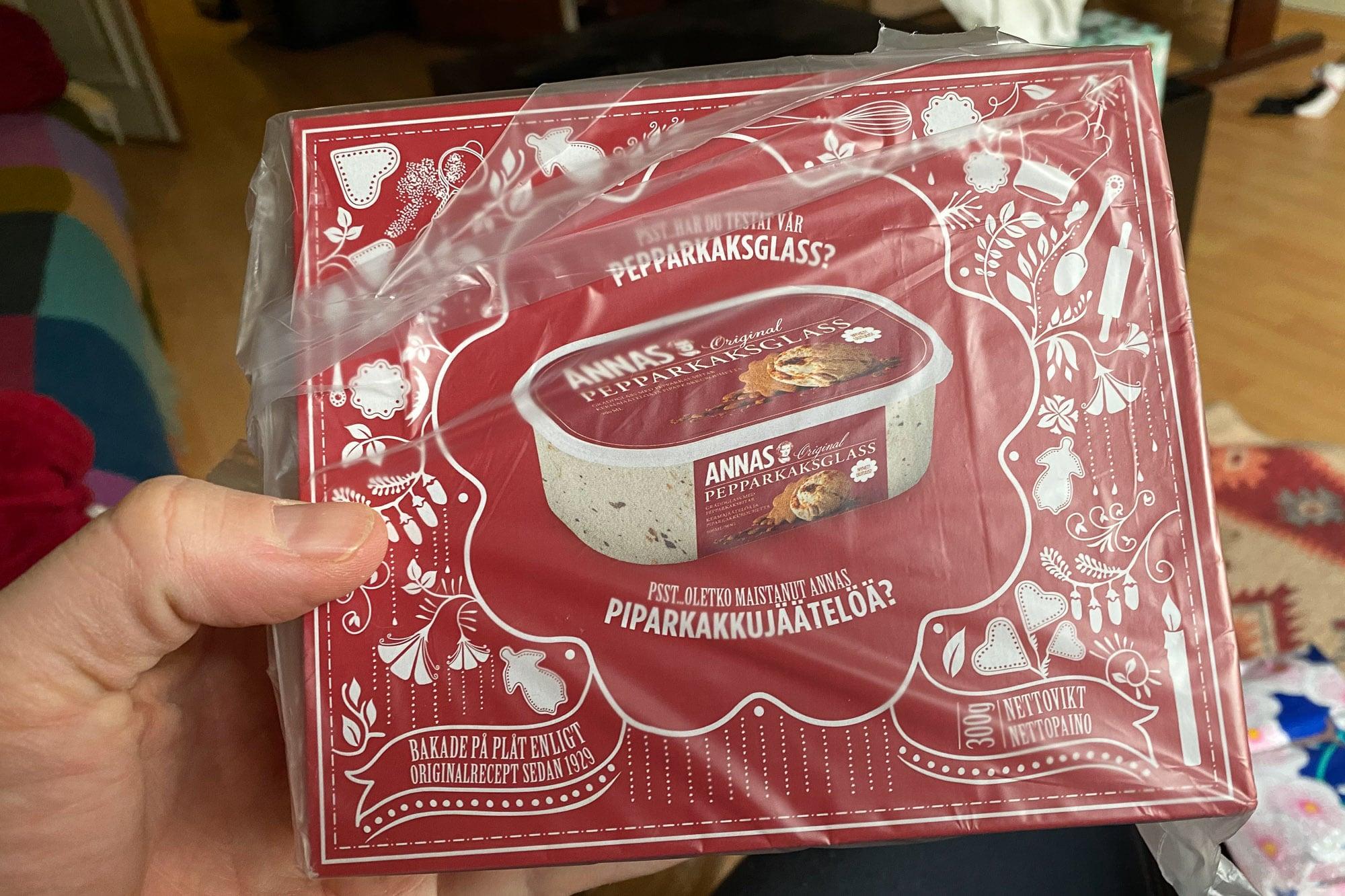 Swedish cookies from Hannah