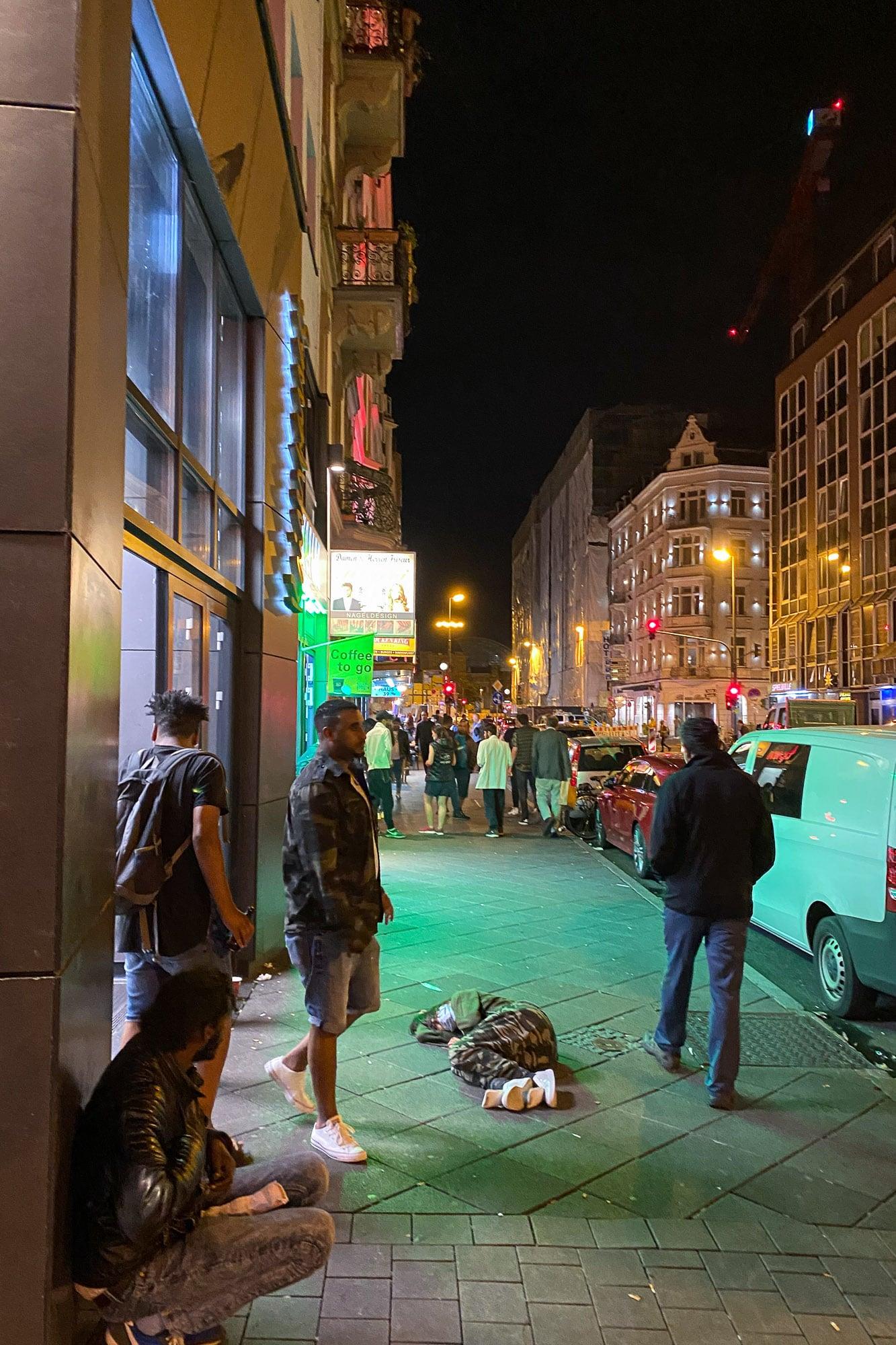 Taunusstraße in Frankfurt