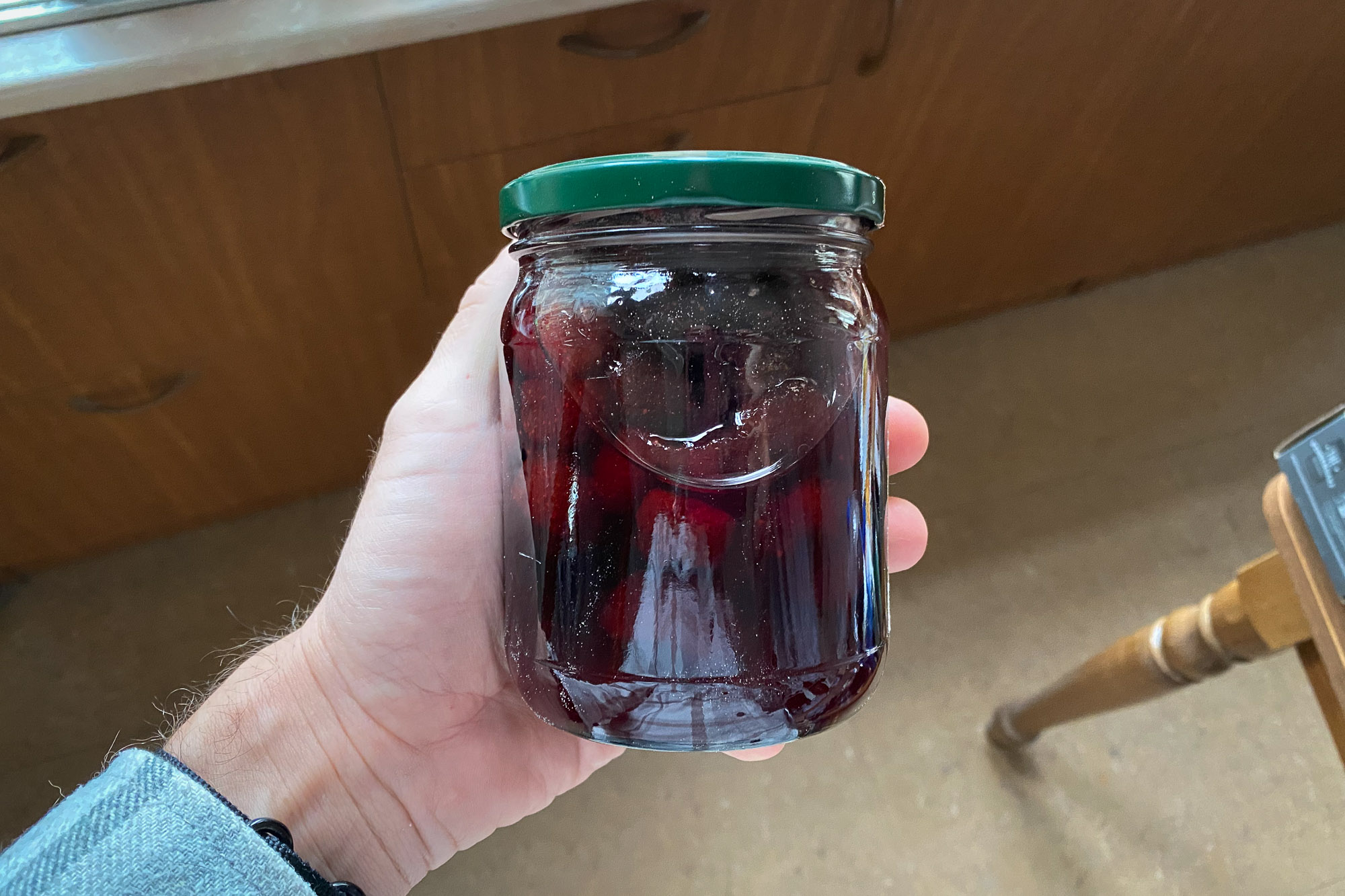home-made confiture